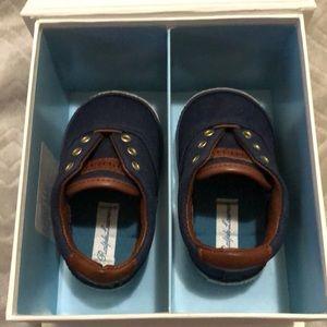 Ralph Lauren baby boy shoes